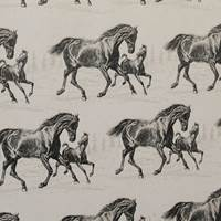 Horse and Foal Gift Wrap Paper