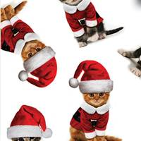 Kitty Christmas Tissue Paper
