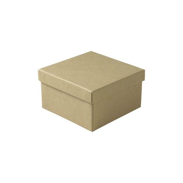 Jewelry Boxes Natural Kraft Cotton Filled Jewelry Boxes
