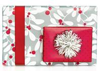 Leaves & Berries Gift Wrap Paper (Reversible)