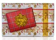 Let it Snow Gift Wrap Paper (Reversible)