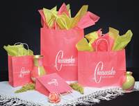 Island Pink Ice Shopping Bags (Cub)