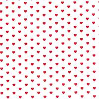 Little Hearts Red Tissue Paper