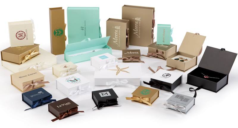 Luxe Ribbon Jewelry Boxes Jewelry Boxes The Packaging Source