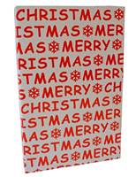 Merry Christmas Red Gift Wrap (FREE FREIGHT)