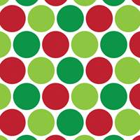 Merry Dots Gift Wrap Paper