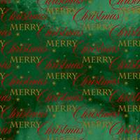 Merry Wishes Foil Gift Wrap Paper