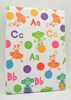 Monkeys, Letters & Dots Gift Wrap (FREE FREIGHT)