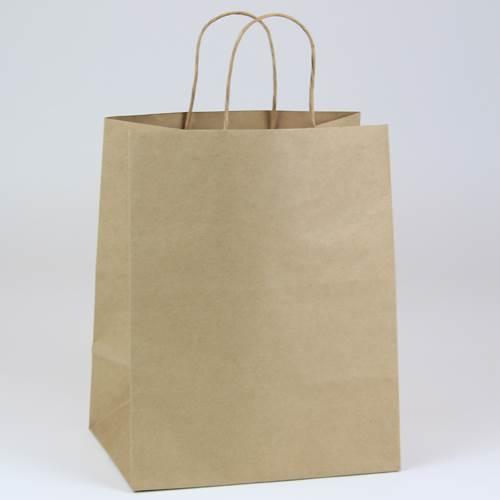 Custom Printed Paper Shopping Bags | Natural Kraft Paper Bags ...