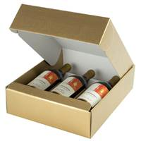 Oro Wine Bottle Box (3 Bottle) Wine Packaging, Wine Bottle Carriers, Wine Bottle Packaging, Wine Bottle Boxes, Oro Wine Bottle Carrier, Gold Wine Bottle Box