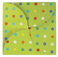 Party Dots Gift Card Folders