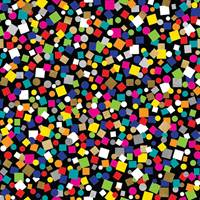 Party Popper Black Tissue Paper
