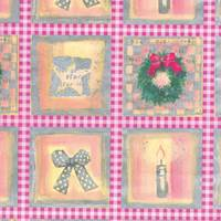 Pastel Wreath Gift Wrap Paper