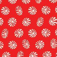 Peppermint Toss Gift Wrap Paper Wholesale gift wrap paper, Jillson & Roberts gift wrap, Christmas gift wrap, Winter gift wrap, Holiday gift wrap, Hanukkah gift wrap