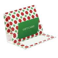 Pop-up Gift Card Holder (Bright Christmas)