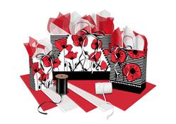 Poppies Collection Paper Shopping Bags (Cub)