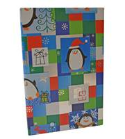 Pudgy Penguins Metallic Gift Wrap (FREE FREIGHT)