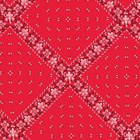 Red Bandana Gift Wrap Paper