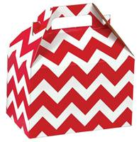 Red Chevron Gable Box