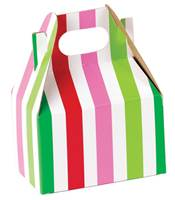 Santa Stripe Gable Box