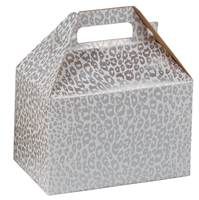 Silver Cheetah Gable Box