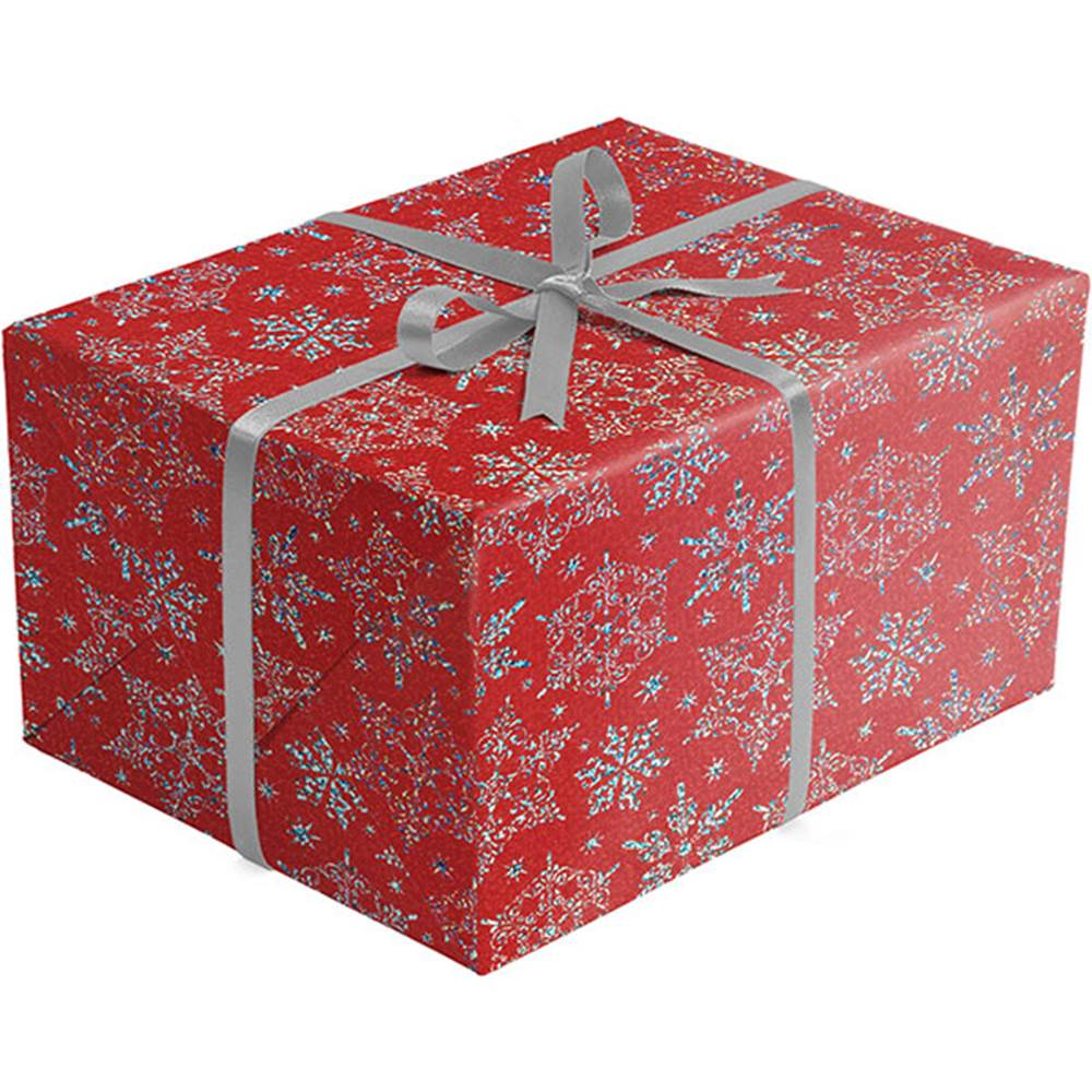 christmas gift wrap paper sparkleflake red gift wrap paper xb683
