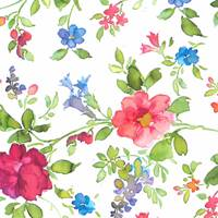 Watercolor Vine Gift Wrap - FREE FREIGHT