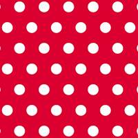 White Dots on Red Gift Wrap - FREE FREIGHT