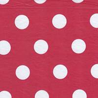 White Dots on Red Tissue Paper