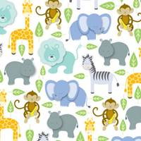 Zoo Tissue Paper