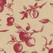 Apple Toile Tissue Paper