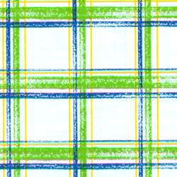 Brushstroke Plaid Tissue Paper