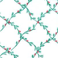 Evergreen Trellis White Tis