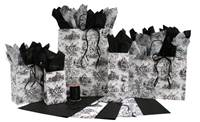 French Toile Black