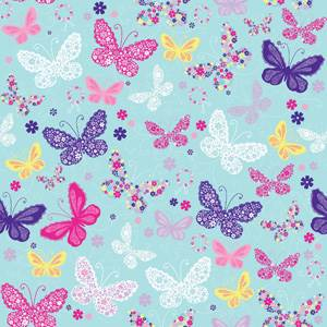 Birthday/Celebrate/Kids Gift Wrap PaperButterfly Gift Wrap