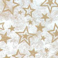 Gold Star Spatter Tissue Paper