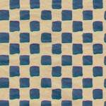 Primitive Check Navy Tissue Paper