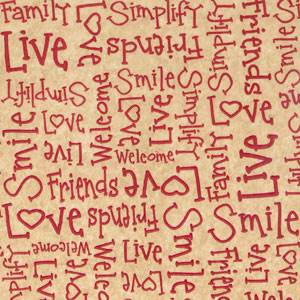Primitive Words Burgundy Tissue Paper