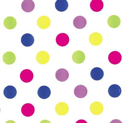 Dots - Bright Dots Tissue Paper
