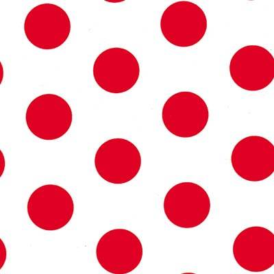 Dots - Strawberries Tissue Paper