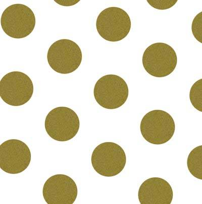 Dots - Gold Dots Tissue Paper
