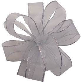 Sheer Essence Ribbon Silver Silver