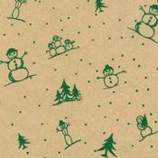 Snowman Collection Tissue Paper