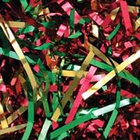 Red/Green/Gold Precious Metal Shred