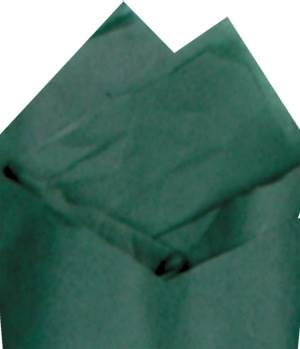 Forest Green Economy Tissue Paper