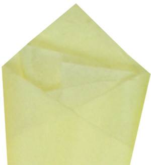 Light Yellow Economy Tissue Paper