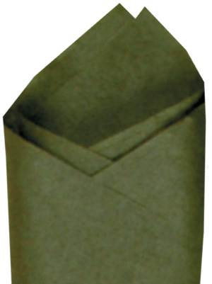 Olive Green Tissue Paper