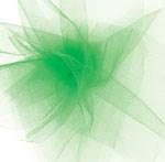 Tulle Ribbon Kelly Green