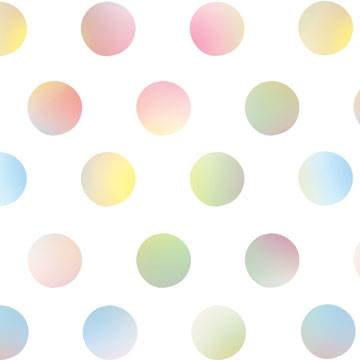 Watercolor Dots Tissue Paper