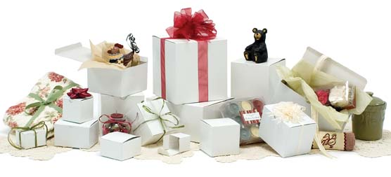 Wholesale Gift Boxes One Piece Gift Box White Gloss
